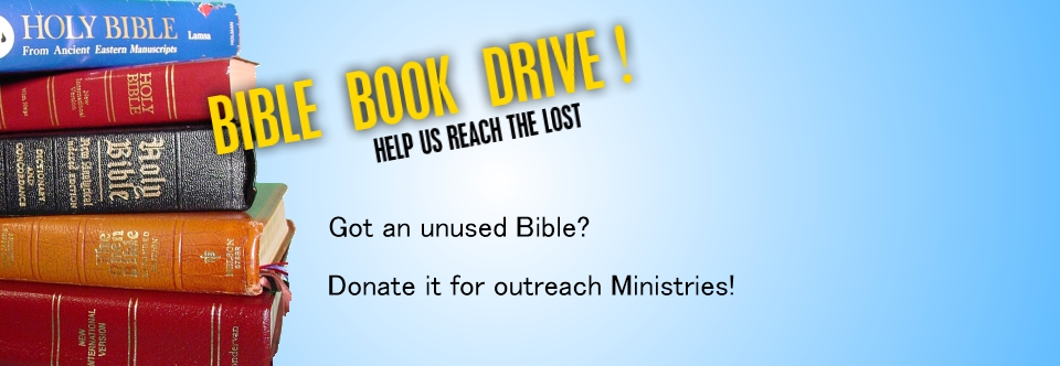 Bible Book Drive